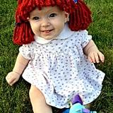 Newborn Raggedy Ann Wig