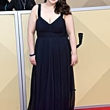 Beanie Feldstein's Prom Dress at the SAG Awards 2018
