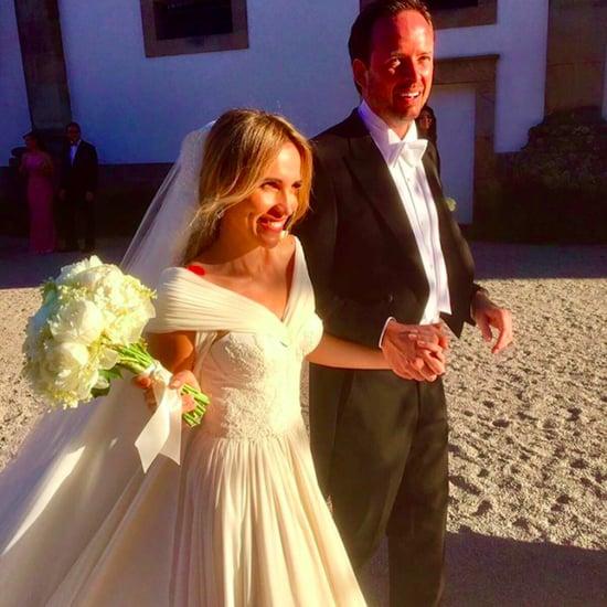 Ana Teixeira de Sousa's Wedding Dress