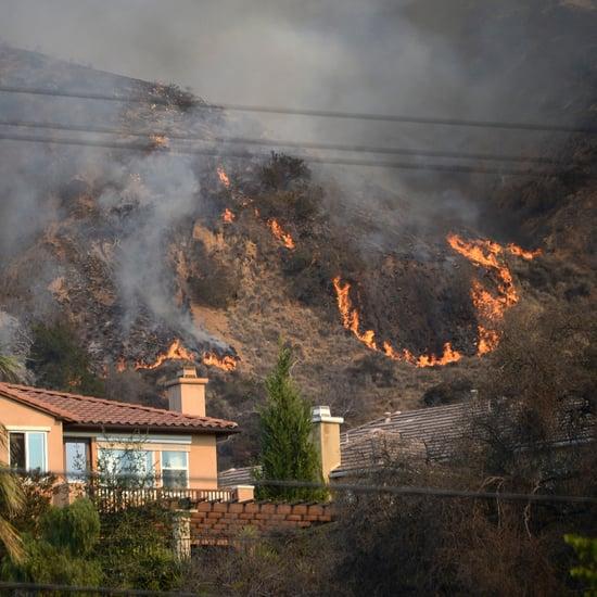 Glendora Forest Fires in California Burn 1,700 Acres