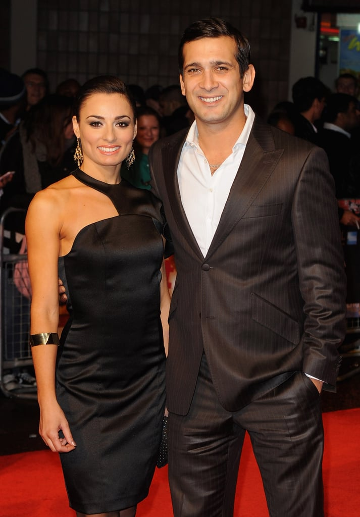 Flavia Cacace and Jimi Mistry