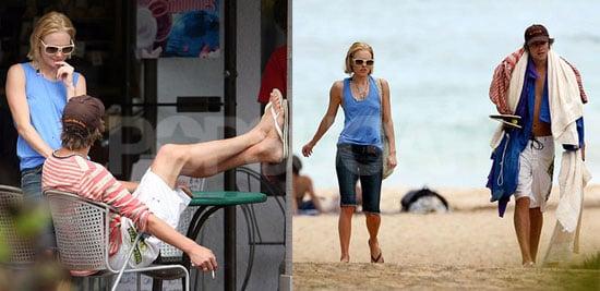 Kate & James' Maui Fever Not Yet Broken