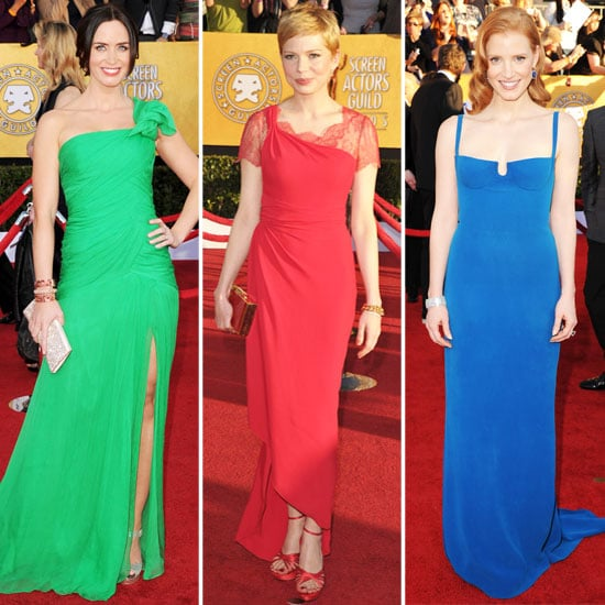 SAG Awards Trendspotting: Prismatic Gowns