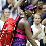 Serena and Venus Williams 2018 US Open Match Pictures