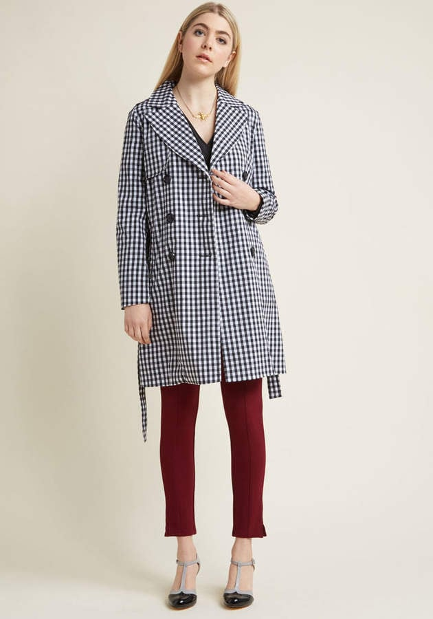 ModCloth Insert Exuberance Here Trench