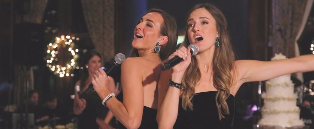 "These 2 Sisters Surprised the Bride and Groom With a Sweet Remake of ""Dear Future Husband"""