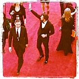 Ben Affleck arrived on the red carpet. Source: Instagram user sachsel