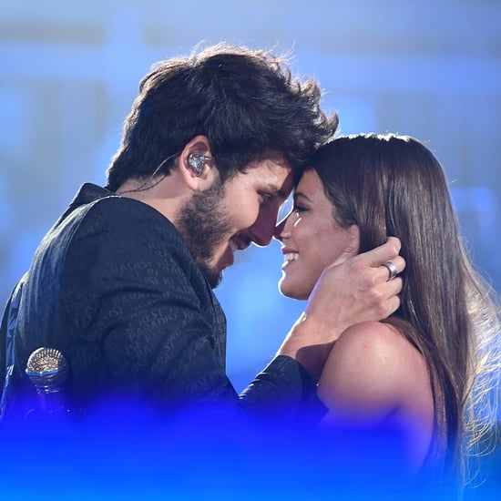 Sebastian Yatra, Tini Kiss at Premios Juventud Performance