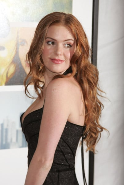 Isla Fisher at Definitely, Maybe premiere in Los Angeles.