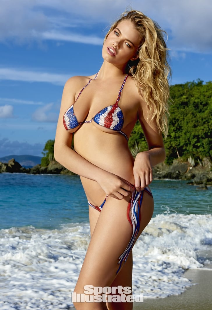 Sports Illustrated Bikini Issue Body Paint Pictures 2015 Popsugar Celebrity