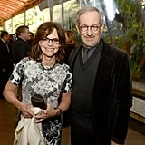 Sally Field arrived at the AFI Awards with her Lincoln director Steven Spielberg.