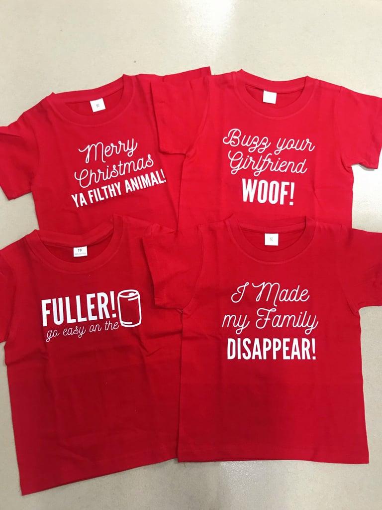 All Four Shirt Designs