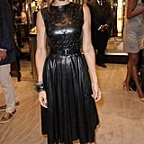 Sarah Jessica Parker Wears Leather Around Town For FNO