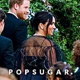 Prince Harry and Meghan Markle at Misha Nonoo's Wedding
