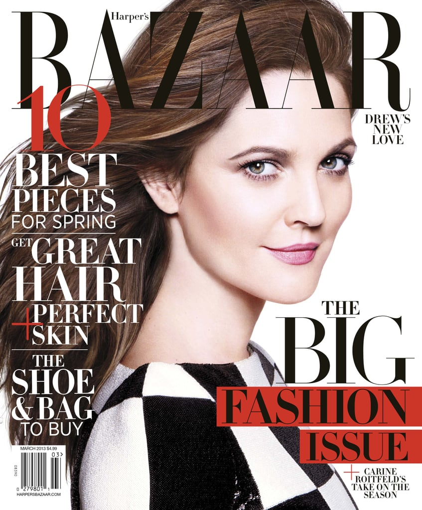Drew Barrymore in Harper's Bazaar March 2013 Pictures ...