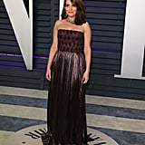 Tina Fey at the 2019 Vanity Fair Oscar Party