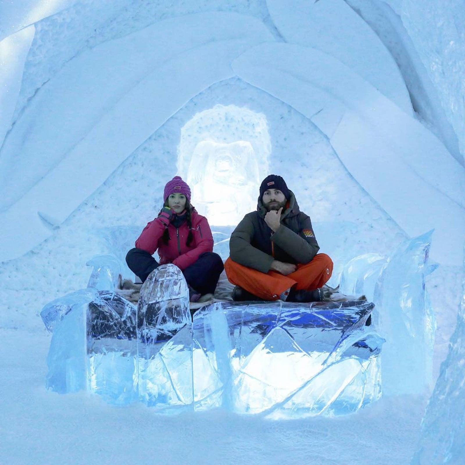 Ice Hotel in Sweden | POPSUGAR Smart Living