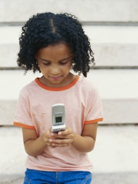 Children's Cell Phone Use on the Rise