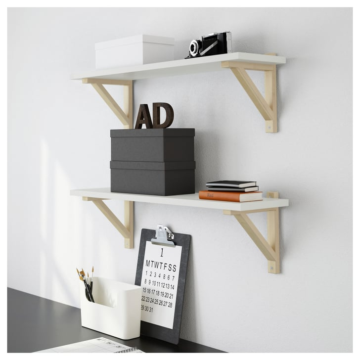 Wall Shelf Best Ikea Bedroom Products Popsugar Home