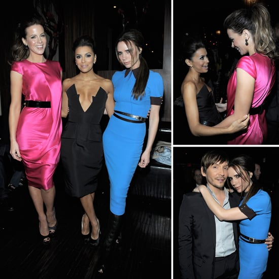 Victoria Beckham and Kate Beckinsale Party It Up With Eva Longoria