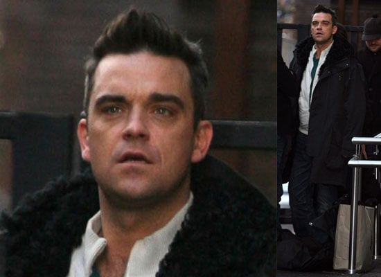 Photos of Robbie Williams at GMTV