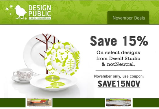 Sale Alert: 15% Off Select Design Public Items