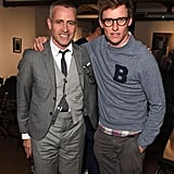 With Thom Browne.
