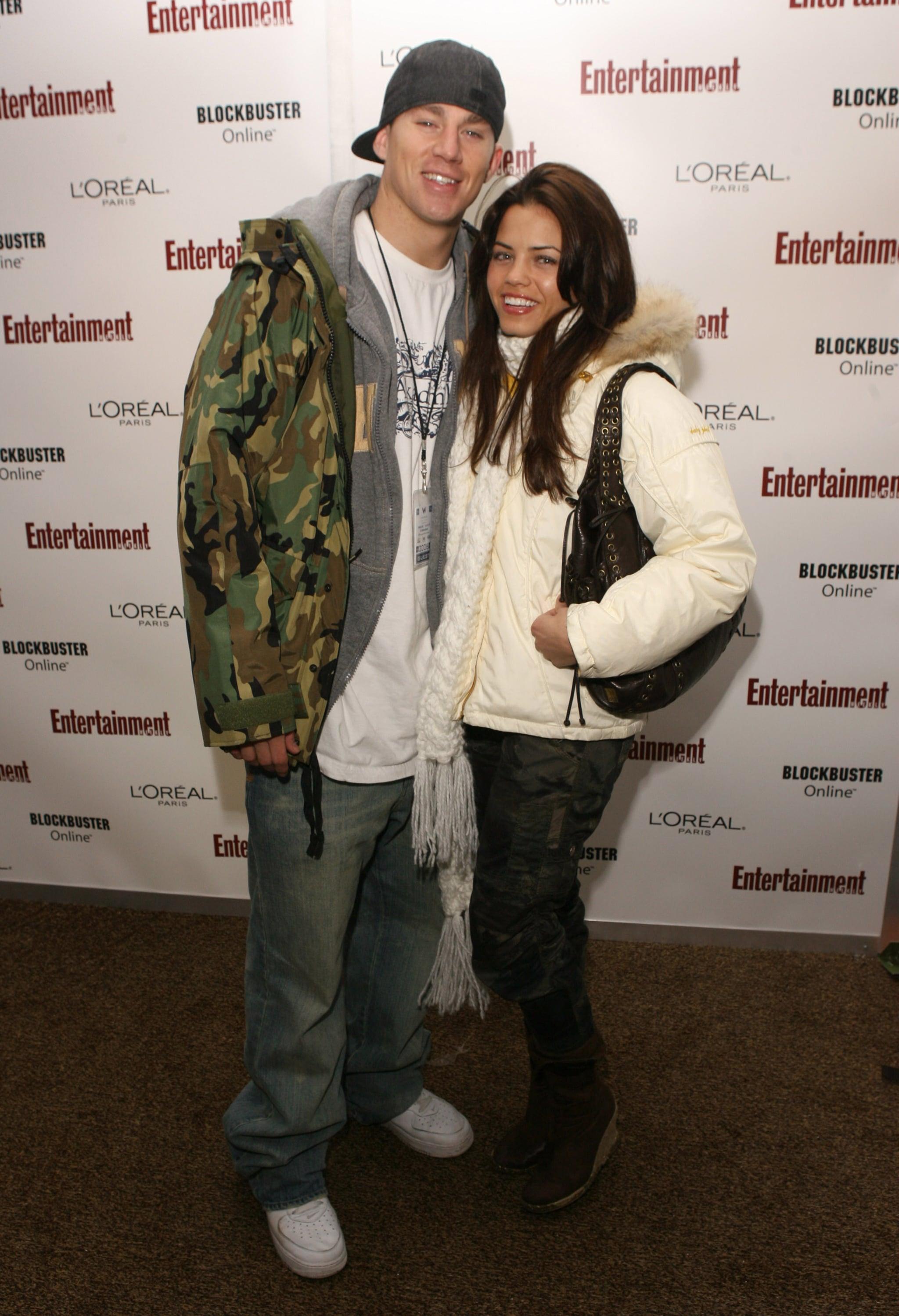 Channing and Jenna bundled up for the 2006 Sundance Film Festival.