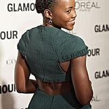 Lupita Nyong'o's Triple-Braided Headband in 2015