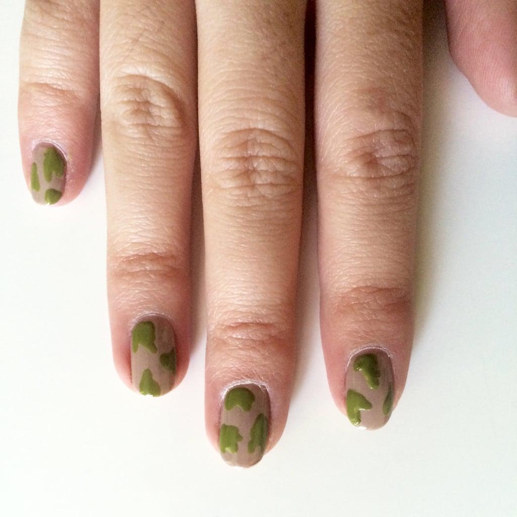 Step 2 Camouflage Nail Art Design Popsugar Beauty Photo 3