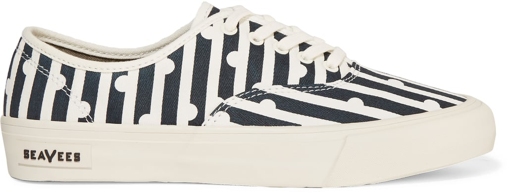SeaVees Printed Canvas Sneakers ($100)