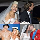 We have so much wedding inspiration, whether you're getting ready for your own big day, handling bridesmaid duties, or just love browsing gorgeous images of nuptials. There's one more place to look for inspiration: celebrities. Take the quiz to find out which celebrity wedding you should have!