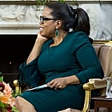 Oprah's Brandon Maxwell Dress For Michelle Obama Interview