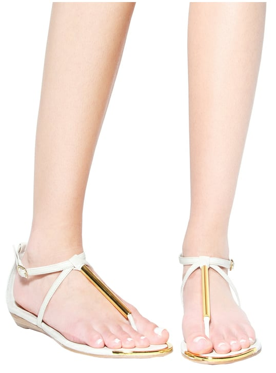 We love the thin metallic strap detail on these sandals (and so does Lauren Conrad, who wore them to Coachella this year).  DV by Dolce Vita Archer Sandal ($69)