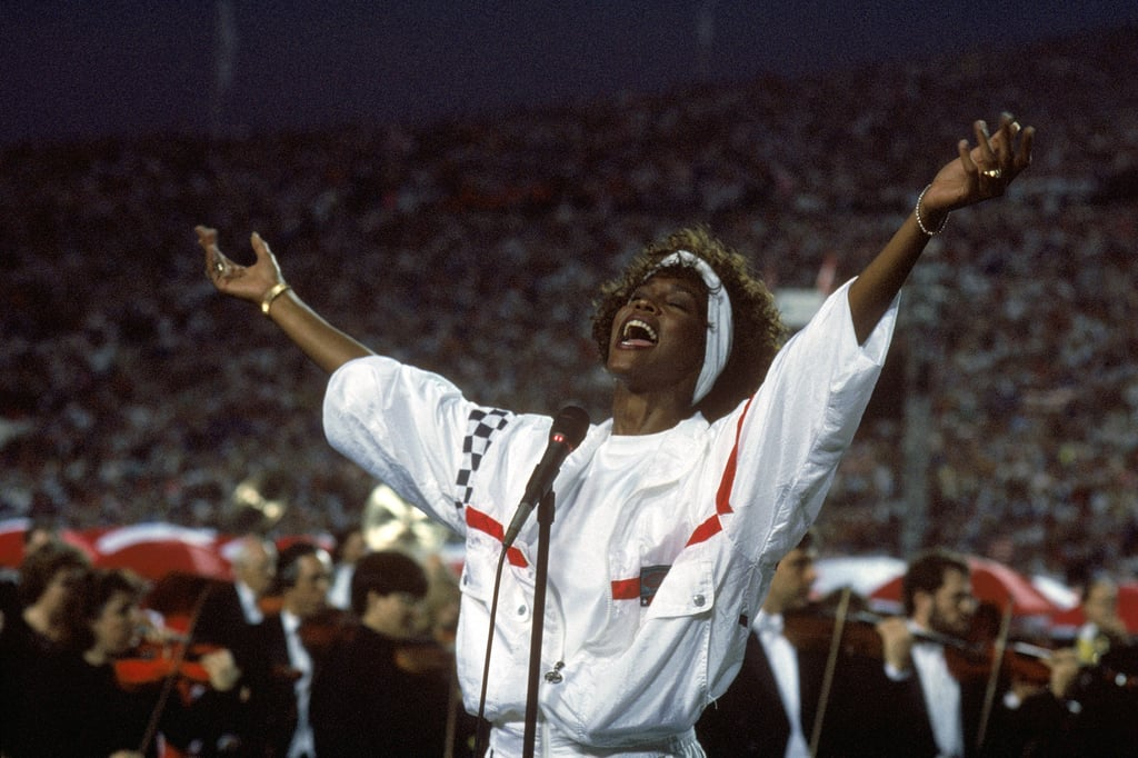 She belted out the national anthem at the Super Bowl in 1991.