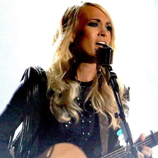 """Carrie Underwood Sings """"Smoke Break"""" at the 2015 CMAs"""
