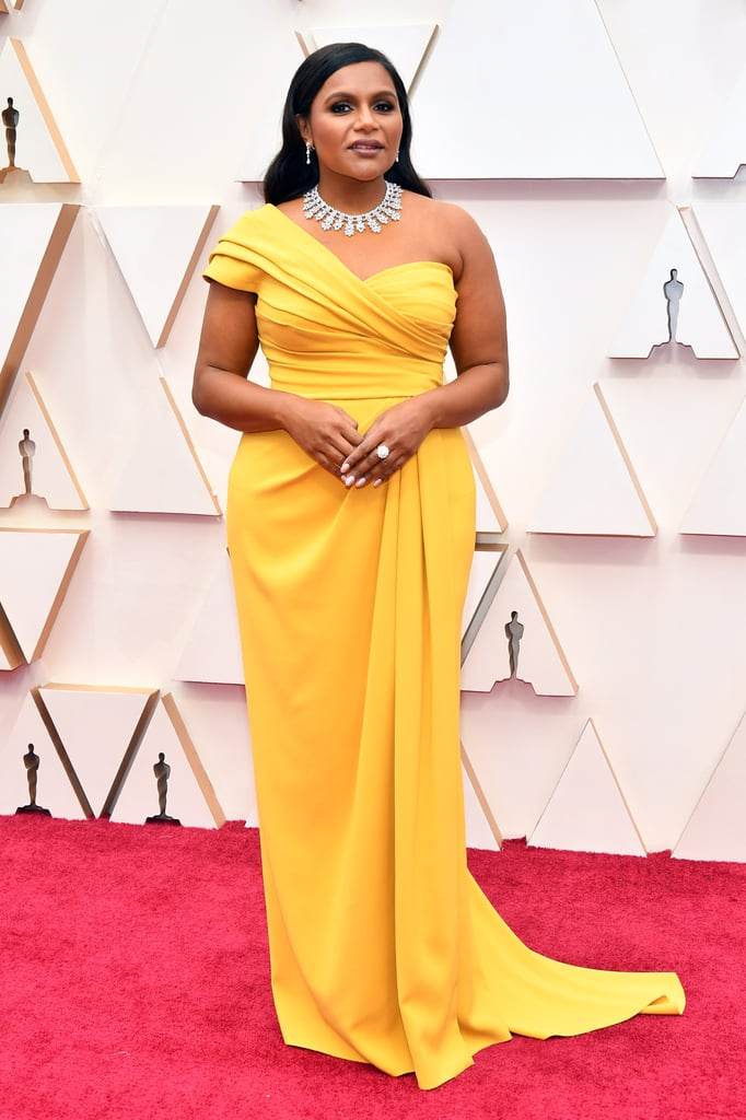Mindy Kaling at the Oscars 2020