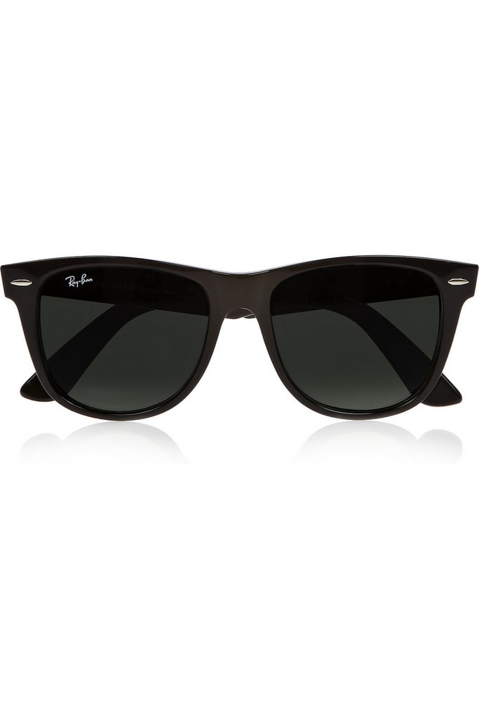 Ray-Ban The Wayfarer black sunglasses ($150)