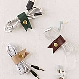 Several cord organizers for your when you travel.