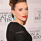 Scarlett Johansson Cat on a Hot Tin Roof Opening Night