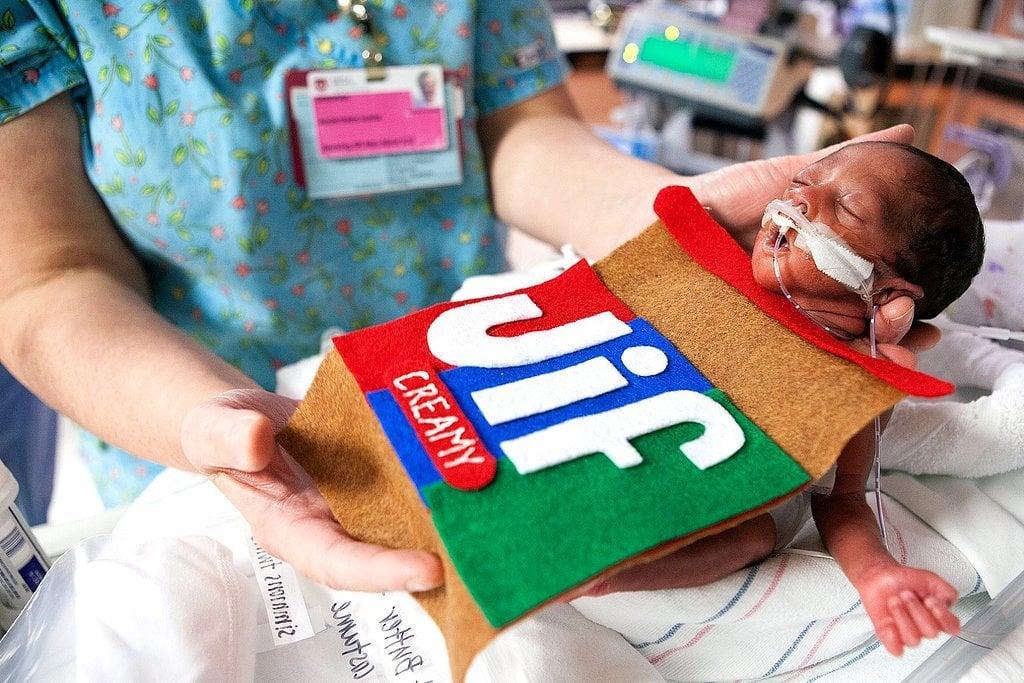 NICU Nurses Dressed Babies in Sweet Handmade Halloween Costumes