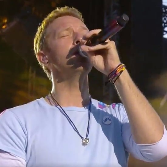 Coldplay Performance at One Love Manchester Concert