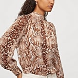 H&M Wide-Cut Blouse