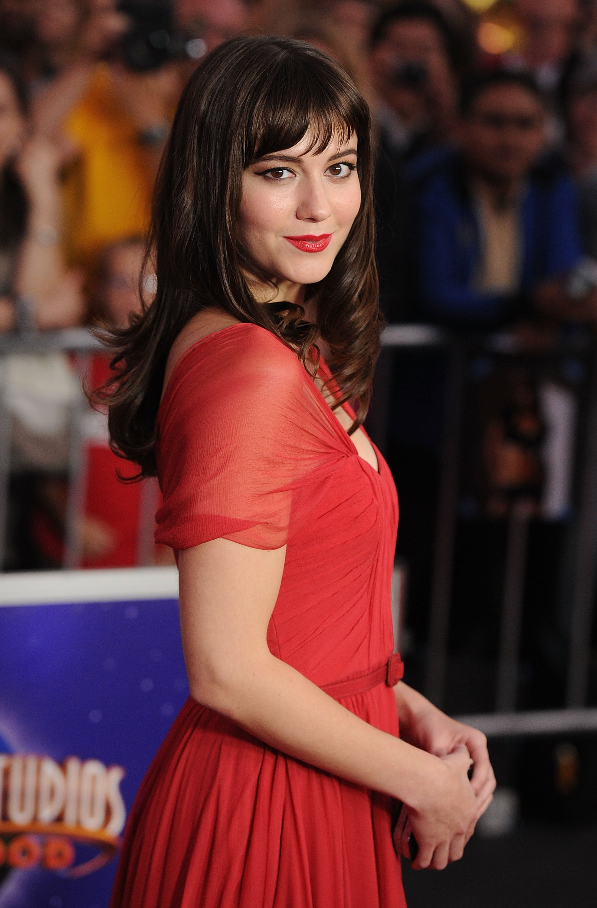 Mary Elizabeth Winstead at The Thing's LA premiere.