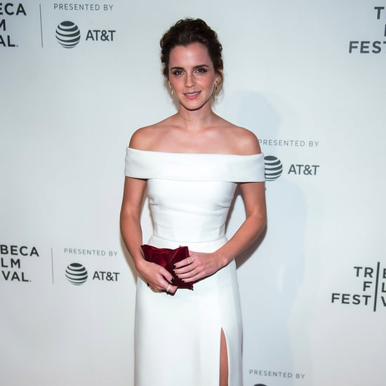 Emma Watson Burberry Dress at Tribeca Film Festival