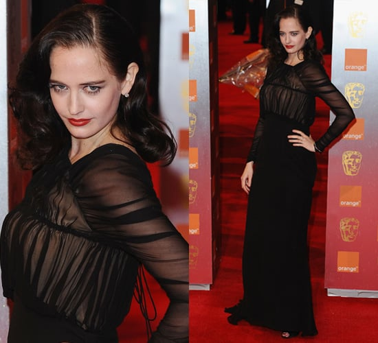 Photos of Eva Green at the 2011 BAFTA Awards 2011-02-13 12:19:50