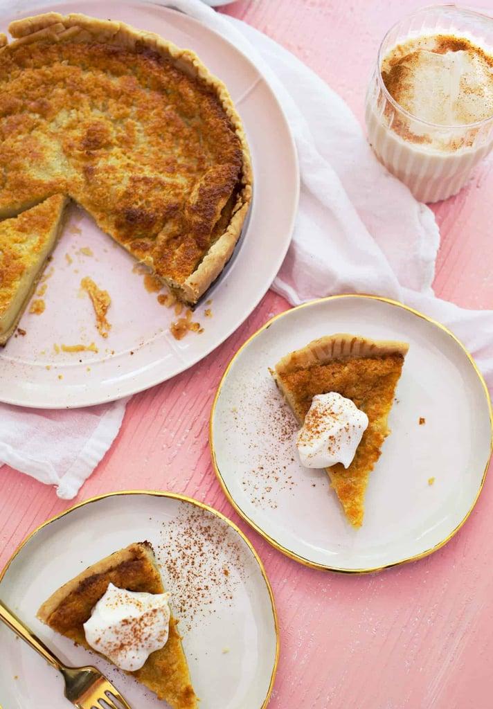 Horchata Custard Pie
