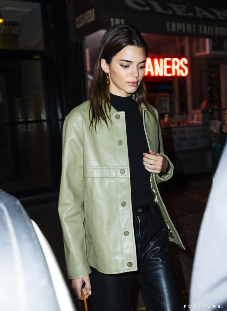 Kendall Jenner and Gigi Hadid Grab Dinner in Similar Outfits