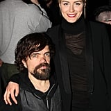 It was a moment made in TV heaven when Orange Is the New Black's Taylor Schilling linked up with Game of Thrones's Peter Dinklage at the opening event for their play, A Month in the Country, in NYC on Thursday.