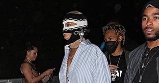 Rihanna Wore a Gucci Mask to Coachella Again — and Yes, You Read That Correctly